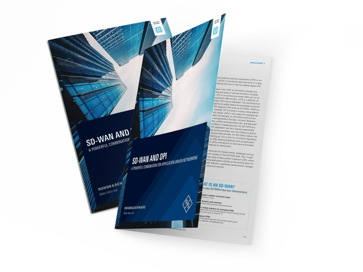 Whitepaper: SD WAN and DPI - A powerful combination for application-driven networking