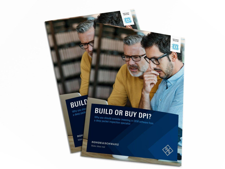 Advisory guide: Build or Buy DPI