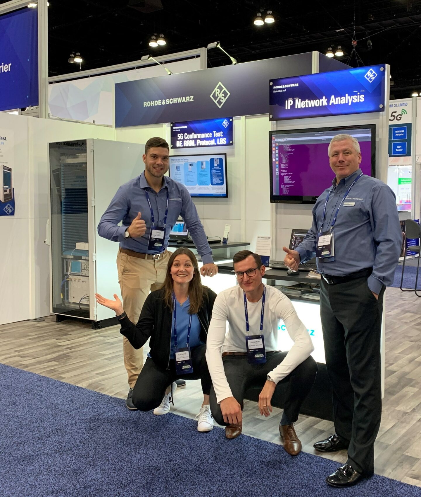 ipoque team at RSA