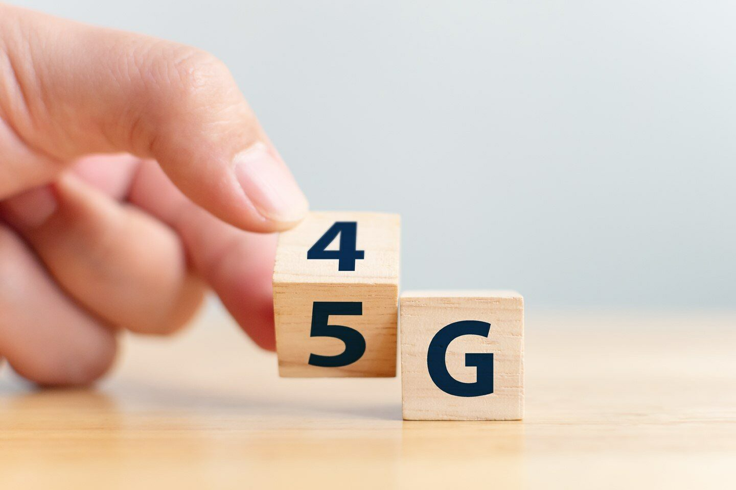 Shift from 4G to 5G