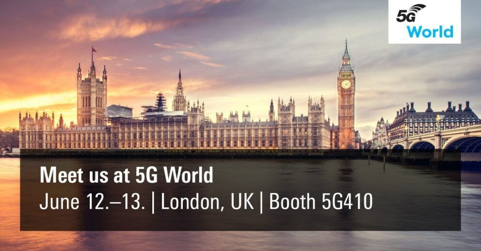 Meet ipoque at 5G London 2019
